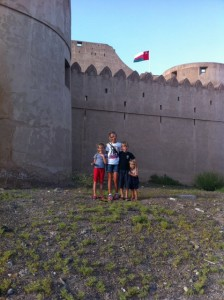 The Tribe outside the Jibreen Fort