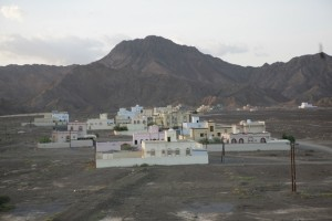 Jibreen from the Jibreen Hotel en route to Jebel Akhdar
