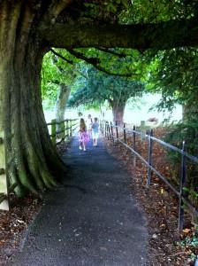 The magical walk down Church Path