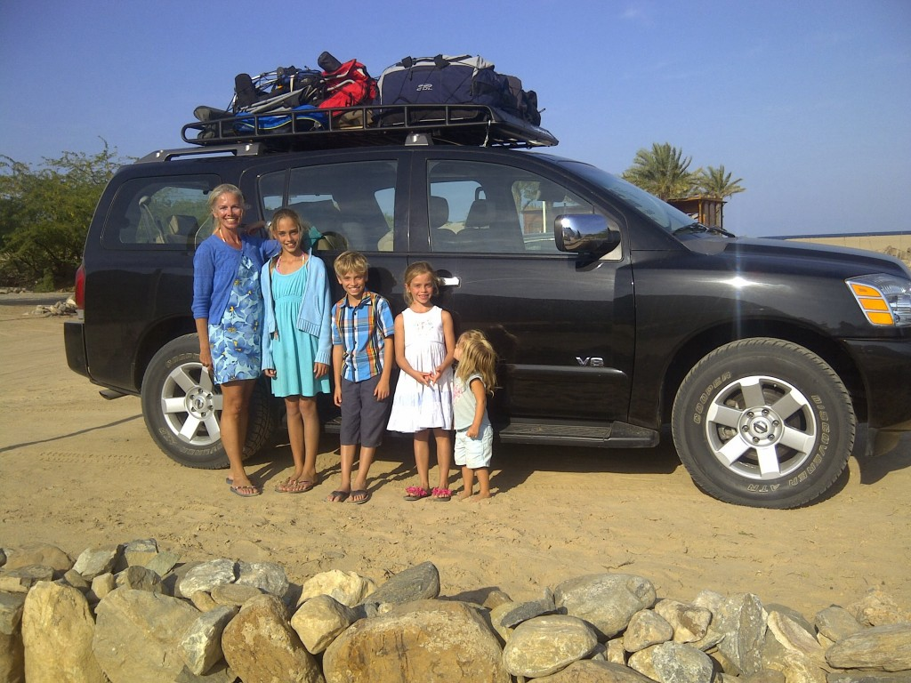 The Tribe, camping in Oman!