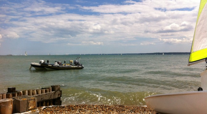 Sailing with the 2nd Andover Sea Scouts