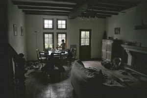 The main room of the Farm Guest House