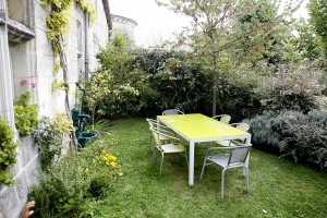 The Farm Guest House's private dining garden