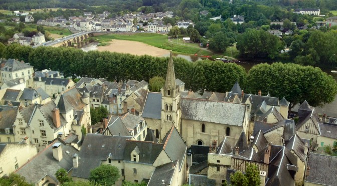 Another (slightly exhausting) history lesson at the beautiful old city of Chinon