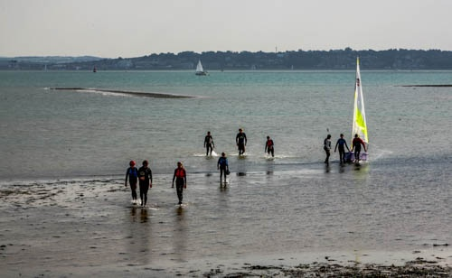 A marathon sail for the sea scouts and an attempt to break a world record