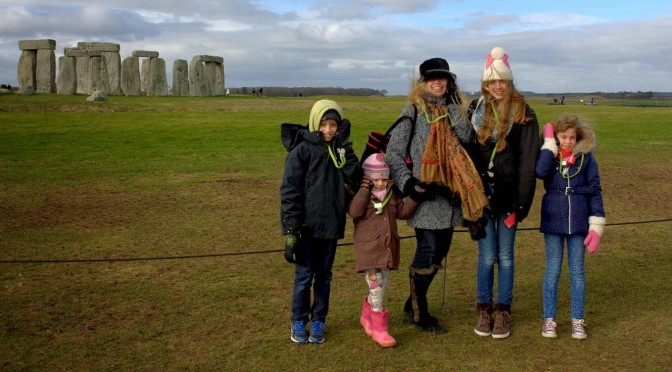 A Blustery Day at Stonehenge