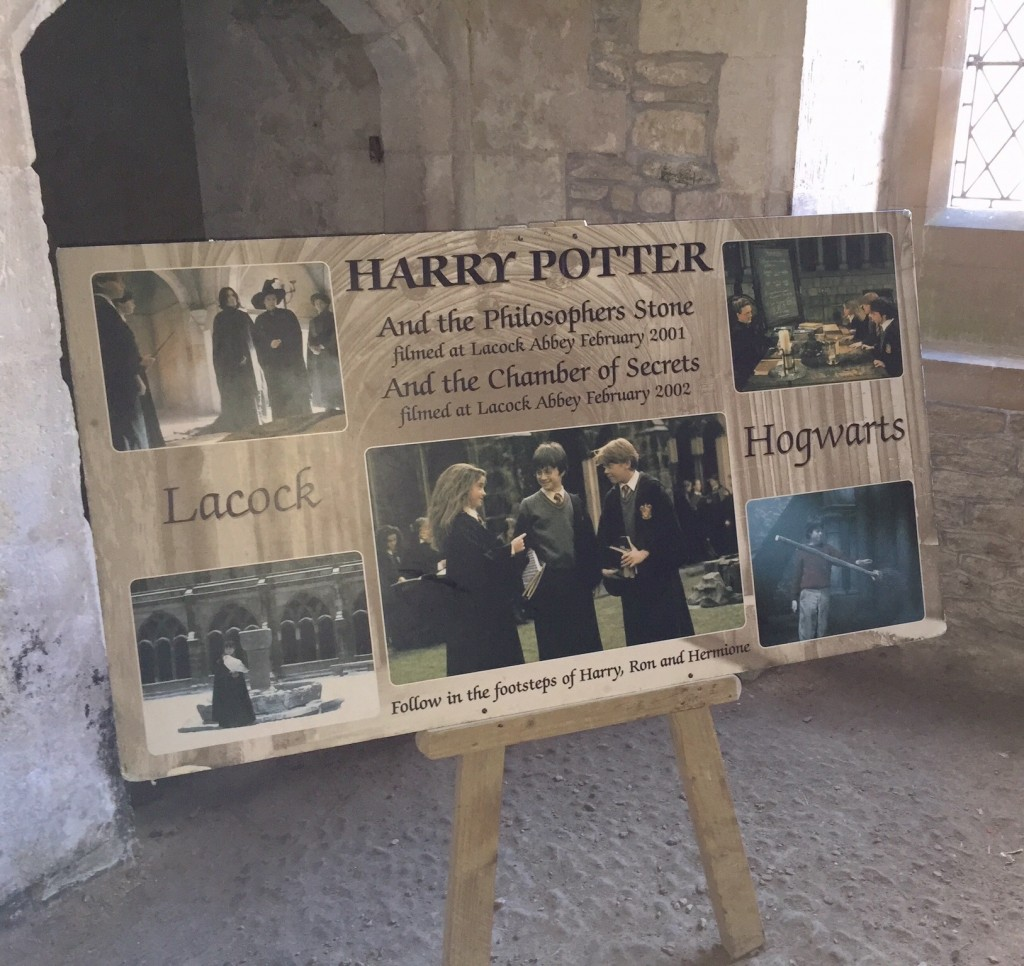 Harry Potter and Lacock