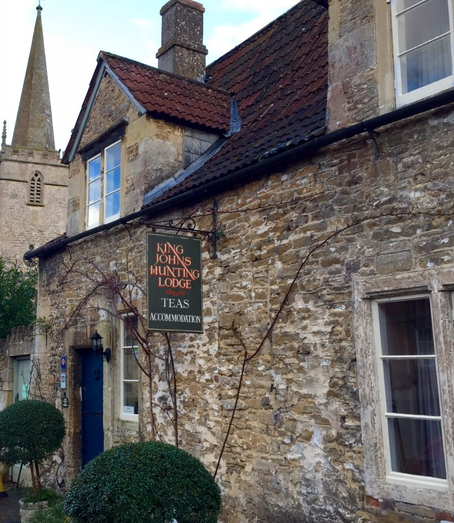 King John's Hunting Lodge tea rooms - the oldest house in Lacock