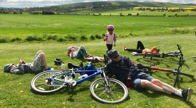 Chiseldon & Marlborough Railway Path Family Cycle